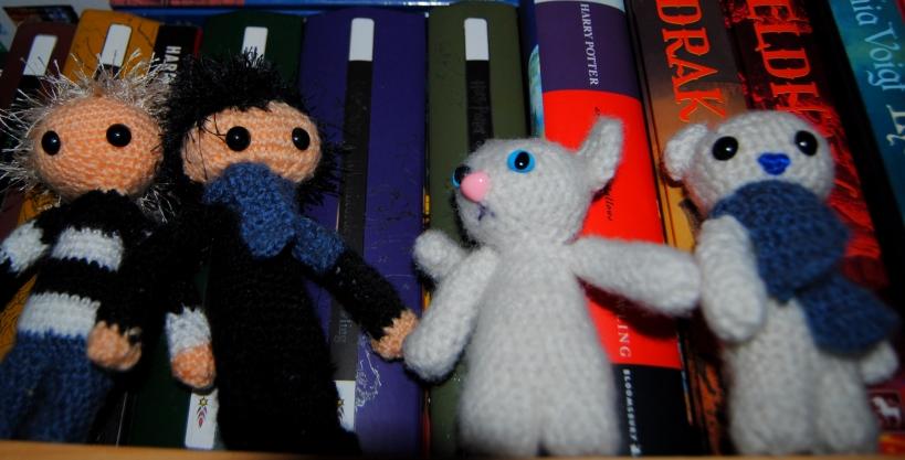något som inte är en bok i min bokhylla