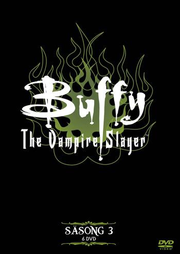 Omslagsbild Buffy the Vampire Slayer, säsong 3.