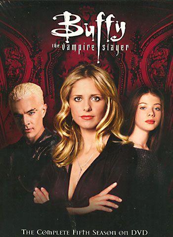 Omslagsbild Buffy the Vampire Slayer, säsong 5