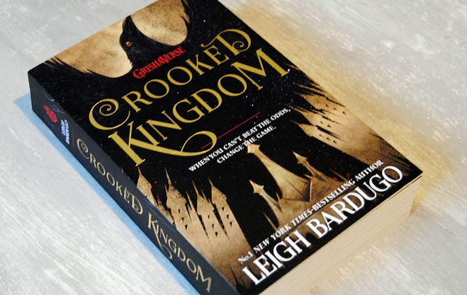 Omslagsbild Crooked Kingdom