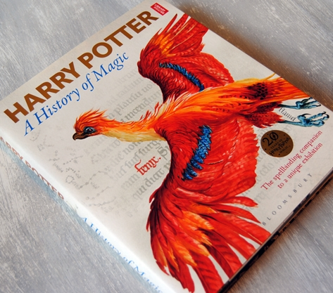 Omslagsbild Harry Potter: A History of Magic