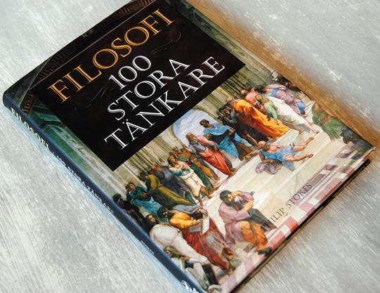 Omslagsbild Filosofi: 100 stora tänkare av Philip Stokes