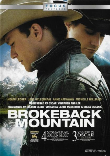 Omslagsbild Brokeback Mountain
