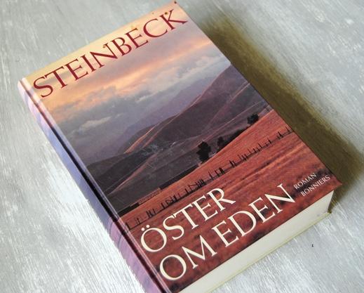 Omslagsbild Öster om Eden av John Steinbeck