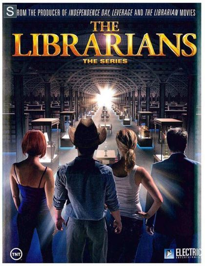 Omslagsbild The Librarians, säsong 2