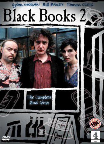 Omslagsbild Black Books, säsong 2