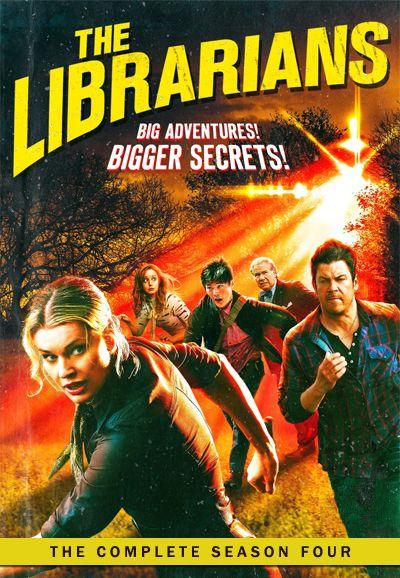 Omslagsbild The Librarians, säsong 4