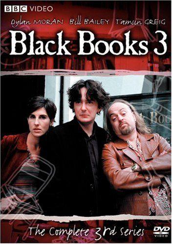 Omslagsbild Black Books, säsong 3