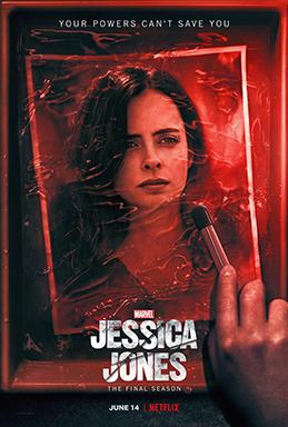 Poster för tredje säsongen av Jessica Jones