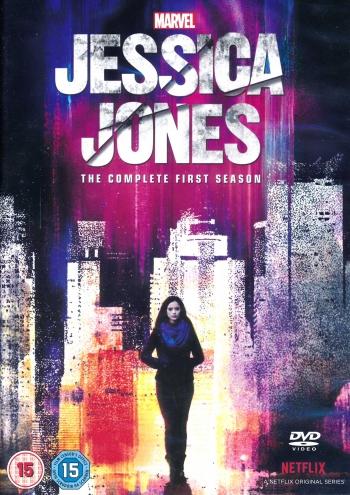 Omslagsbild Jessica Jones, säsong 1