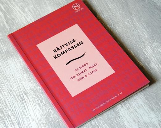 Omslagsbild Rättvisekompassan av Maria Soxbo, Johanna Nilsson och Emma Sundh