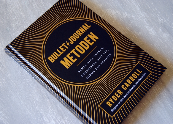 Omslagsbild Bullet journal-metoden av Ryder Carroll