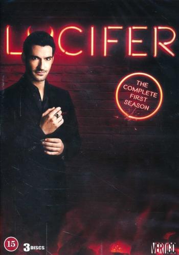Omslagsbild Lucifer, säsong 1