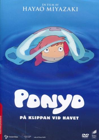 Omslagsbild Ponyo på klippan vid havet