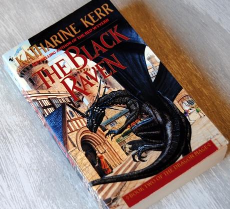 Omslagsbild The Black Raven av Katharine Kerr