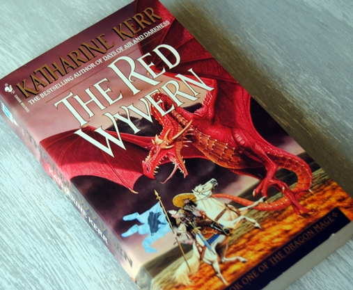 Omslagsbild The Red Wyvern av Katharine Kerr