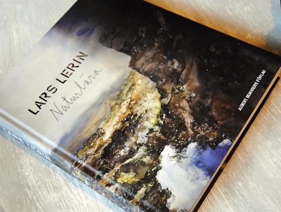 Omslagsbild Naturlära av Lars Lerin