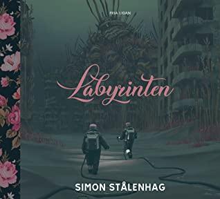 Omslagsbild Labyrinten av Simon Stålenhag