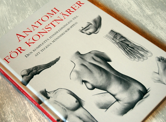 Omslagsbild Anatomi för konstnärer av Daniel Carter och Michael Courtney