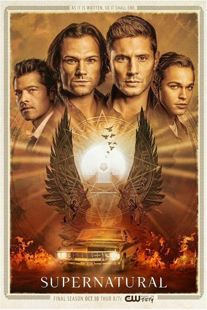 Poster för säsong 15 av Supernatural