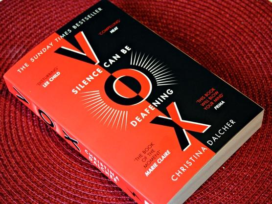 Omslagsbild Vox av Christina Dalcher