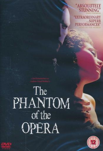 Omslagsbild Fantomen på operan