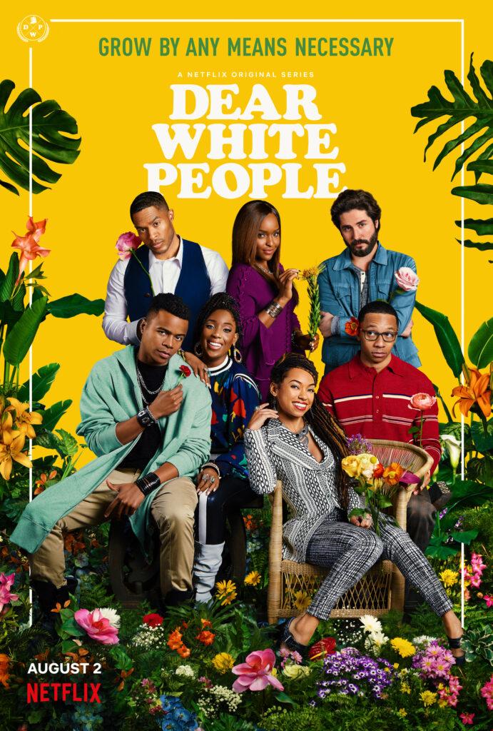 Poster för tredje säsongen av Dear White People