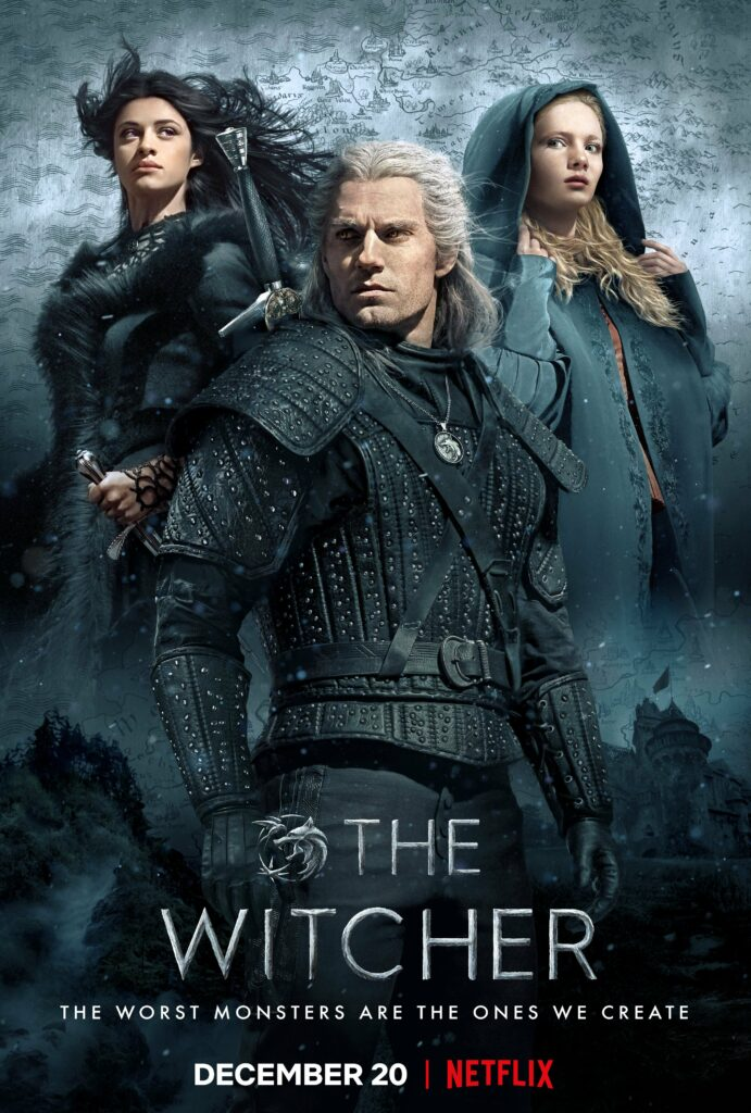 Poster för The Witcher, säsong 1