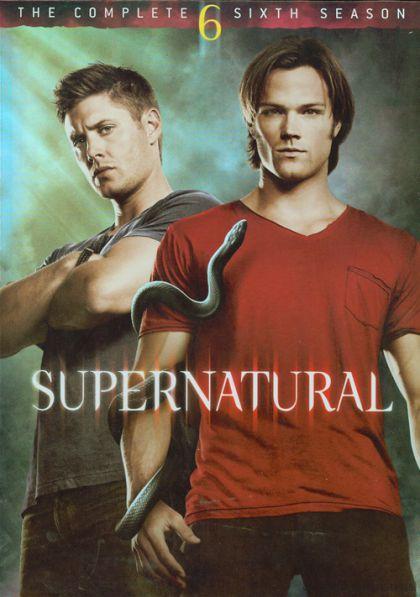 Omslagsbild för säsong 6 av Supernatural