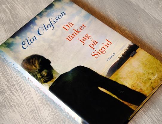 Omslagsbild Då tänker jag på Sigrid av Elin Olofsson