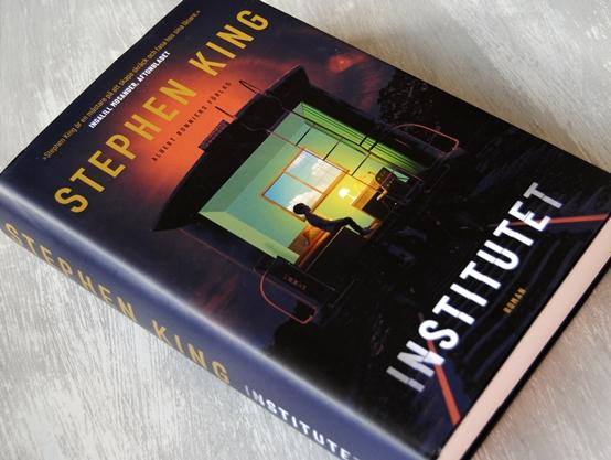 Omslagsbild Institutet av Stephen King