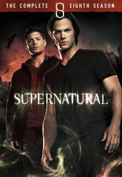 Omslagsbild Supernatural, säsong 8