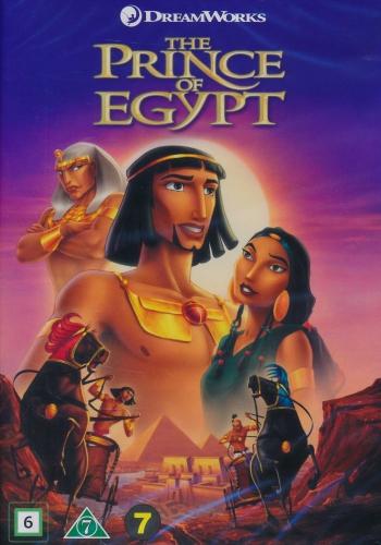 Omslagsbild Prinsen av Egypten