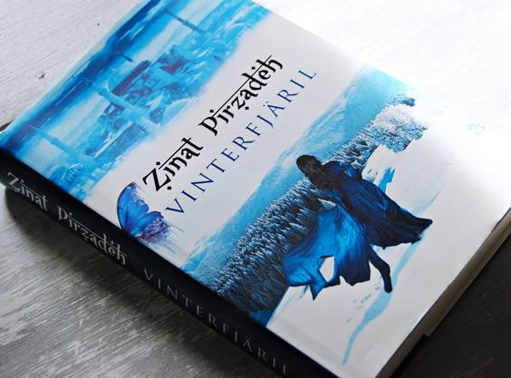 Omslagsbild Vinterfjäril av Zinat Pirzadeh