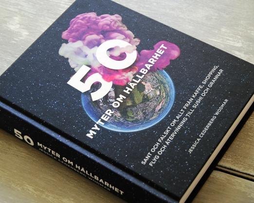 Omslagsbild 50 myter om hållbarhet av Jessica Cederberg Wodmar