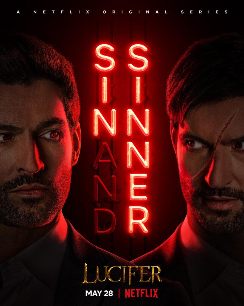 Poster för säsong 5 av Lucifer