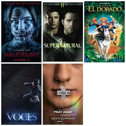 De fyra filmer och den tv-serie jag sett i augusti 2021.