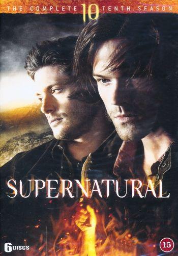 Omslagsbild Supernatural, säsong 10
