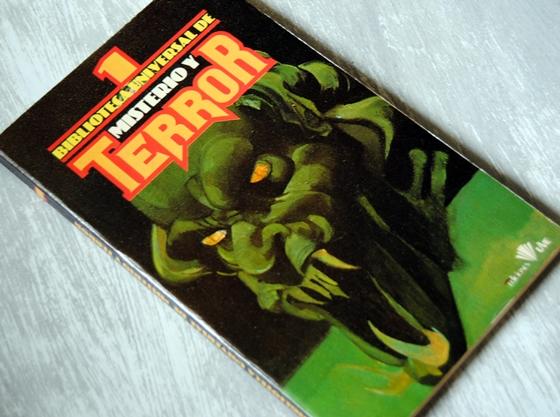 Omslagsbild Biblioteca universal de misterio y terror 1