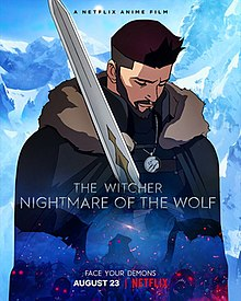 Omslagsbild The Witcher: Nightmare of the Wolf
