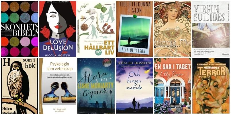 De tolv böcker jag har läst i september 2021